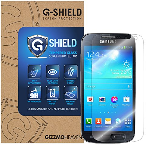 G-Shield Samsung Galaxy S4 Mini (I9190) Schutzfolie Gehärtetem Glas Displayschutzfolie Screen Protector Folie Displayschutz Anti-Kratz Ultra Klar 9H Härte 0.33mm