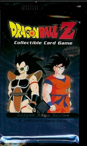 rading Card Game Saiyan Saga Booster Pack [9 Cards] [Toy] ()