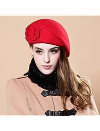 TXD Hat La Versi¨n Coreana de la Doble Elegante y Encantador Pasar el  Invierno en la Primavera y el Oto o Las… c0613a42383
