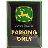 Nostalgic-Art 23117 John Deere - Parking Only, Blechschild 30x40 cm