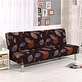 Cornasee funda de clic-clac elástica, cubre /protector sofá de 3 plazas,impresión floral