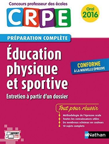 Education physique et sportive - Préparation à l'épreuve orale