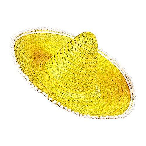 Sombrero Mexicano amarillo Cualquier día