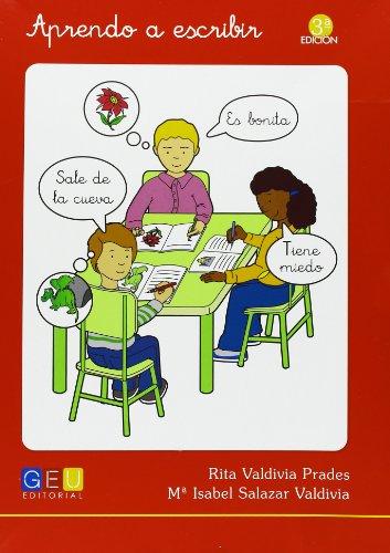 Aprendo a escribir por Rita Valdivia