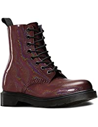 Dr. Martens Pascal Patent Red - Náuticos Mujer