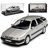 alles-meine.de GmbH Citroen Xsara Break Kombi Silber Grau 1997-2006 1/43 Norev Modell Auto mit individiuellem Wunschkennzeichen