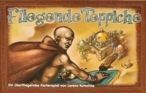 Adlung Spiele 11010 Fliegende Teppich - Juego de Cartas (Contenido en alemán, Instrucciones en español)