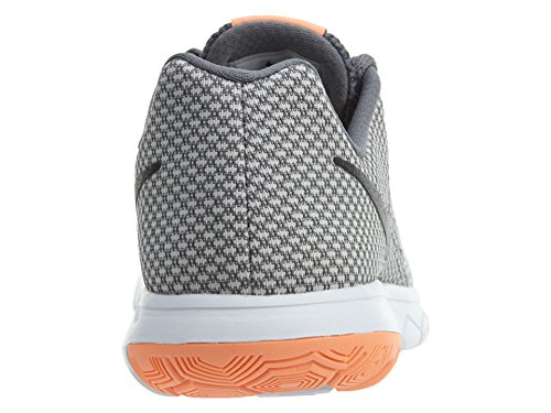 Nike Damen Flex Experience Rn 6 Laufschuhe Weiß (Pure Platinum/Black-Cool Grey-Sunset Glow)
