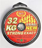 WFT KG STRONG EXACT geflochtene Schnur 480m 0,22mm 32kg, Farbe:Grün #1D-C 860-022