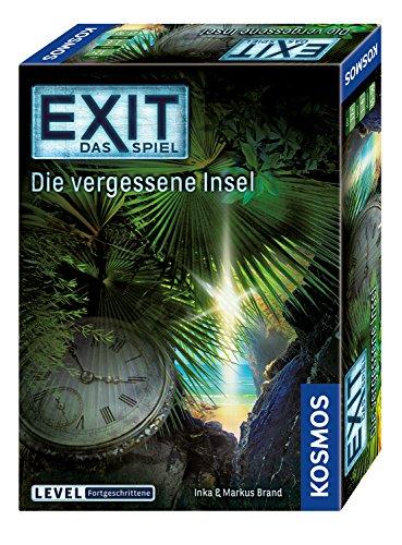 Kosmos 692858 - EXIT - Das Spiel - Die vergessene Insel, Level: Fortgeschrittene, Escape Room Spiel