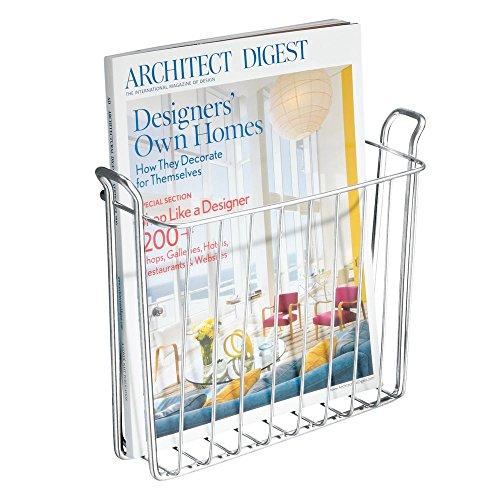 interdesign classico porte magazine et journaux pour salle de bains ou toilettes support. Black Bedroom Furniture Sets. Home Design Ideas