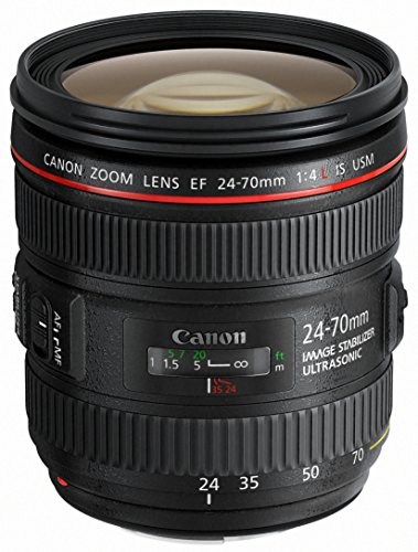 Canon Standardzoomobjektiv EF 24-70mm f/1:4L IS USM (77mm Filtergewinde) schwarz
