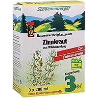 Schoenenberger Zinnkraut Saft, 3x200 ml preisvergleich bei billige-tabletten.eu