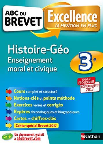 ABC du BREVET Excellence Histoire - Géo - Enseignement moral et civique 3e par Sandrine Gstalter, Anne- Sophie Malgrand, Pascal JEZEQUEL