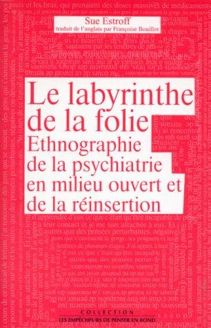 Le Labyrinthe de la folie. Ethnographie de la psychiatrie en milieu ouvert et de la réinsertion