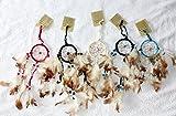5 x kleiner Traumfänger 6 cm. Ring Dreamcatcher Kinder Geschenk verschiedene Farben