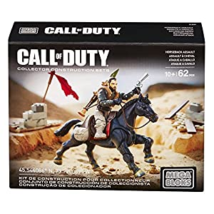 Mega Mattel Bloks DLB99 – Konstruktionsspielzeug, Call of Duty Mounted Fighter