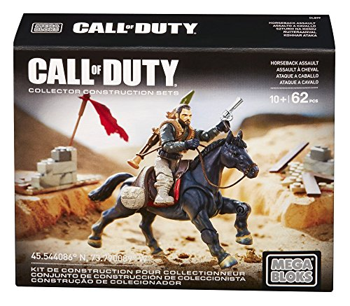 Mattel Mega Bloks DLB99 - Konstruktionsspielzeug, Call of Duty Mounted Fighter
