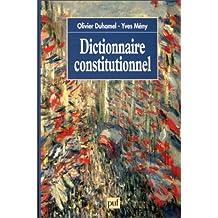 Dictionnaire constitutionnel
