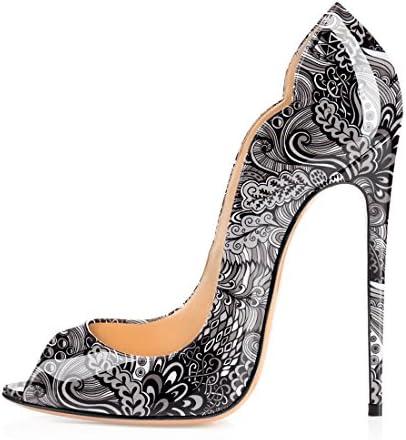 Soireelady - Zapatos con tacón Mujer
