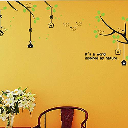 Wandaufkleber schlafzimmer wohnzimmer tv sofa hintergrund abnehmbare wandaufkleber 5 sätze größe: 50 * 70 cm