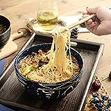 WAN Japanische Keramik Ramen Pasta Schüssel Küche Küchenmaschine Rührschüssel Obstsalat Dessert...