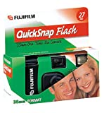 Fujifilm Quick Snap Flash 4 Pack 35mm Single Use Camera
