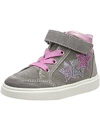 Richter Kinderschuhe Mädchen Blinki (Flora) Hohe Sneaker
