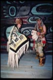239078 Chilkat Indians In Native Attire Haines Alaska A4 Photo Poster Print 10x8