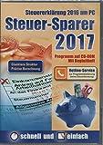 Software - Steuer-Sparer 2017 - Steuererklärung 2016 am PC