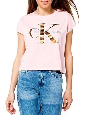 T- Shirt Calvin Klein Jeans Taka Pink