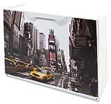 Art Plast U50/NY - Schuhschrank mit New York Dekor