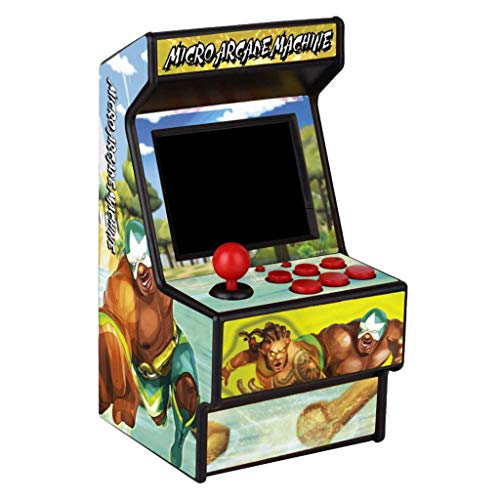 Tensay Consola de juegos portátil Mini Arcade Game Machine 2.8 pulgadas 156 Consolas clásicas Retro Juegos portátiles Máquina portátil para niños