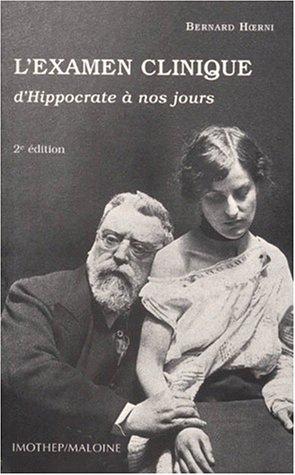 Examen clinique d'Hippocrate à nos jours