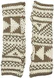 Woolrich Damen Modische Armwärmer Gr. Eins Größe (US Größe), Warm Khaki/Wool Cream
