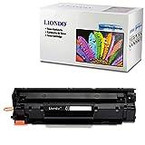 Liondo Toner Kompatibel zu HP CF283A 83A LaserJet Pro MFP M125 126nw M127fn 128fw 201dw 225dn Laserdrucker Multifunktionsgerät - Schwarz 1.500 Seiten