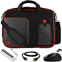 "VanGoddy Trim Laptop Bag w/ HDMI Cable , Mouse & USB Hub for ASUS Transformer Series / ROG / ASUSPRO / ZenBook / VivoBook / 14""- 15.6inch"