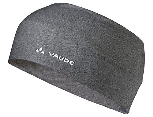 VAUDE Cassons Merino Headband Stirnband, Iron, one Size