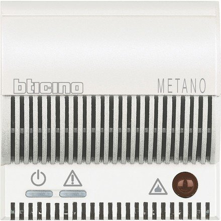 BTICINO AXOLUTE HD4511V12 - AX-DETECTOR GAS NATURA 2M BLAN