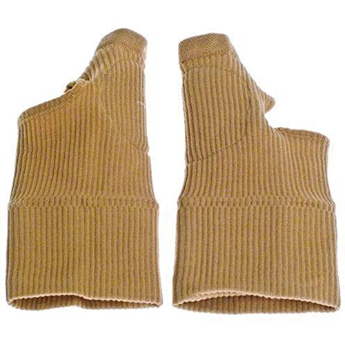 Gelgefüllte Daumen-Hand-/Handgelenkbandage, Arthritis-Handschuhe, 2 Stück -