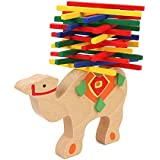 Biowow Camel Stacking Blocks Educational Balance Beam Toys Wooden Building Blocks Table Game Kids Educational Gift