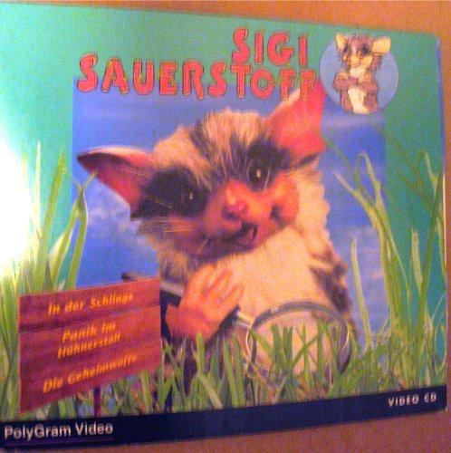 Sigi Sauerstoff (Video-CD) 3 Folgen: In der Schlinge; Panik im Hühnerstall & Die Geheimwaffe Sauerstoff Philips