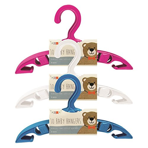 Stalwart B-04056 Hangers, Baby Clothes (Pack of 10)