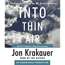 [Into Thin Air: A Personal Account of the Mt. Everest Disaster] (By: Jon Krakauer) [published: August, 2007]