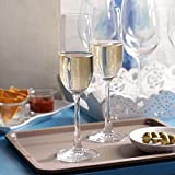 Ocean Glass Flute Champagne Glass - 6 Pieces, Clear, 210 ml
