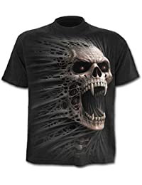 Spiral Cast Out T-shirt Noir