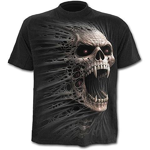 Spiral Cast Out T-shirt Noir - Noir - Noir -