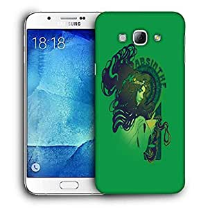 Snoogg Absinthe Girl Designer Protective Back Case Cover For SAMSUNG GALAXY A8