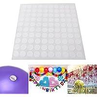 OPUSS Juego de 100 piezas de pegamento para globos y decoración de fiestas, herramientas necesarias para boda