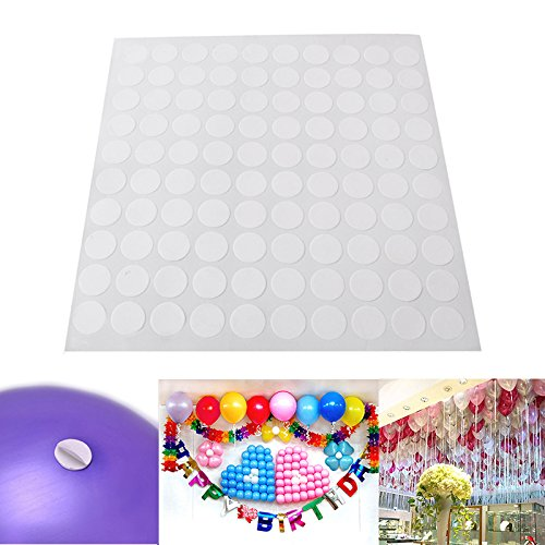 opuss 100/Set 【 Luftballons Klebepunkt 】 Party Dekoration nötig Werkzeug für Hochzeit
